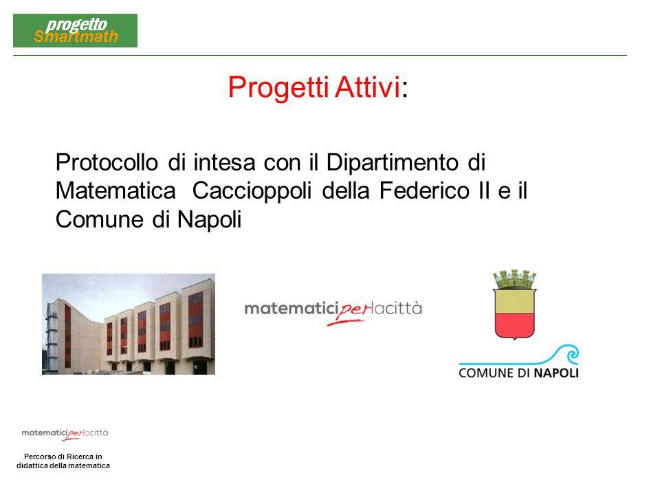 Progetti Attivi: Protocollo di intesa con il Dipartimento di Matematica Caccioppoli della Federico II e il Comune di Napoli.