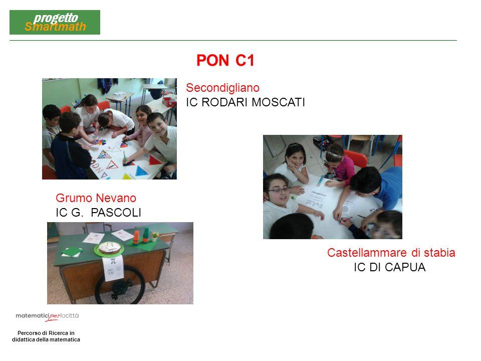 PON C1 Secondigliano IC RODARI MOSCATI Grumo Nevano IC G. PASCOLI