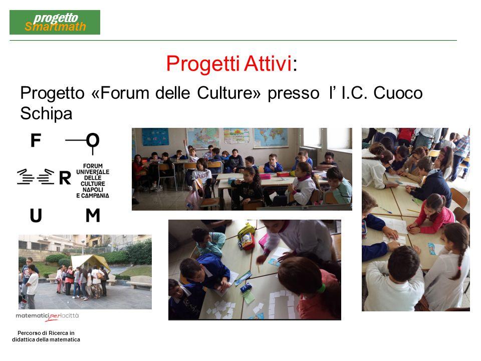 Progetti Attivi: Progetto «Forum delle Culture» presso l' I.C. Cuoco Schipa
