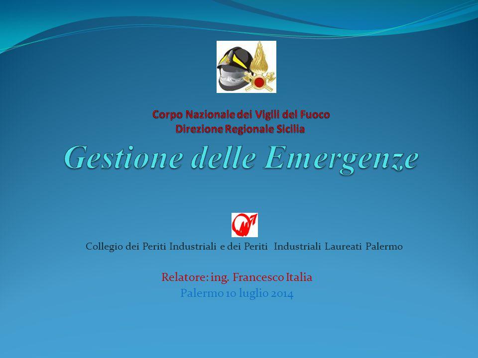 Relatore: ing. Francesco Italia