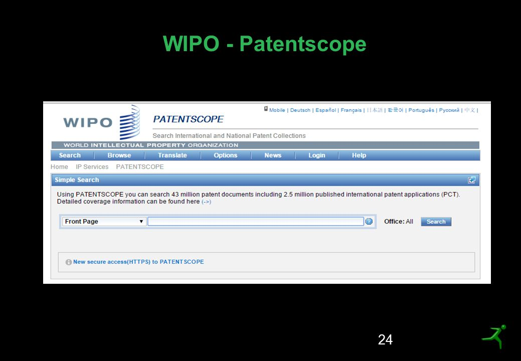 WIPO - Patentscope