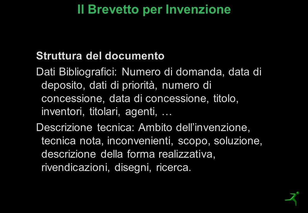Il Brevetto per Invenzione