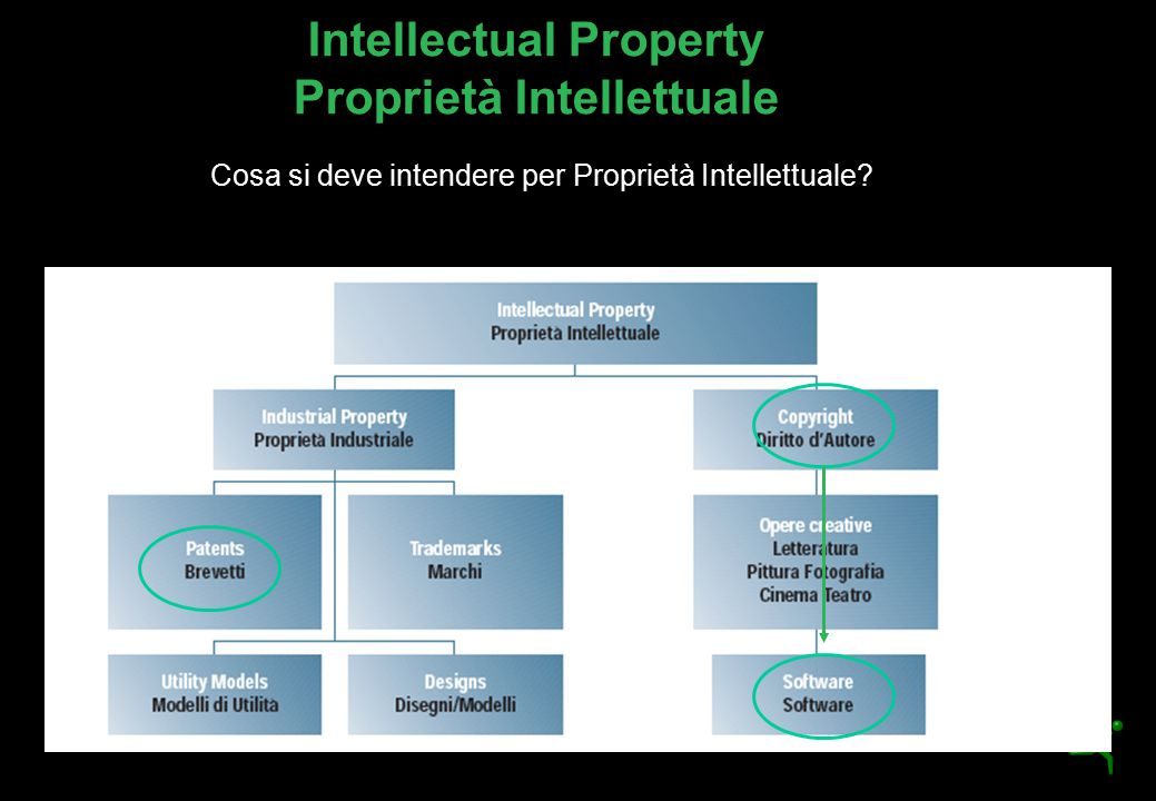 Intellectual Property Proprietà Intellettuale