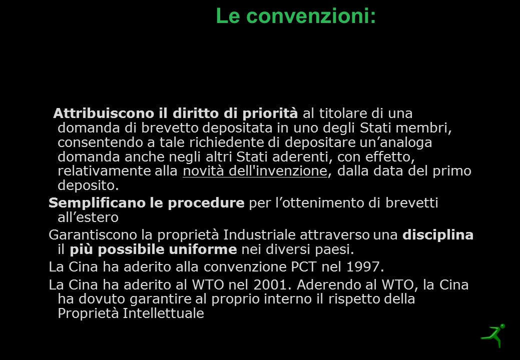 Le convenzioni: