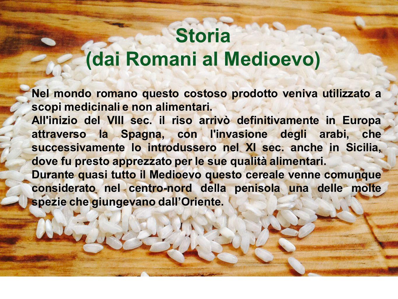 (dai Romani al Medioevo)