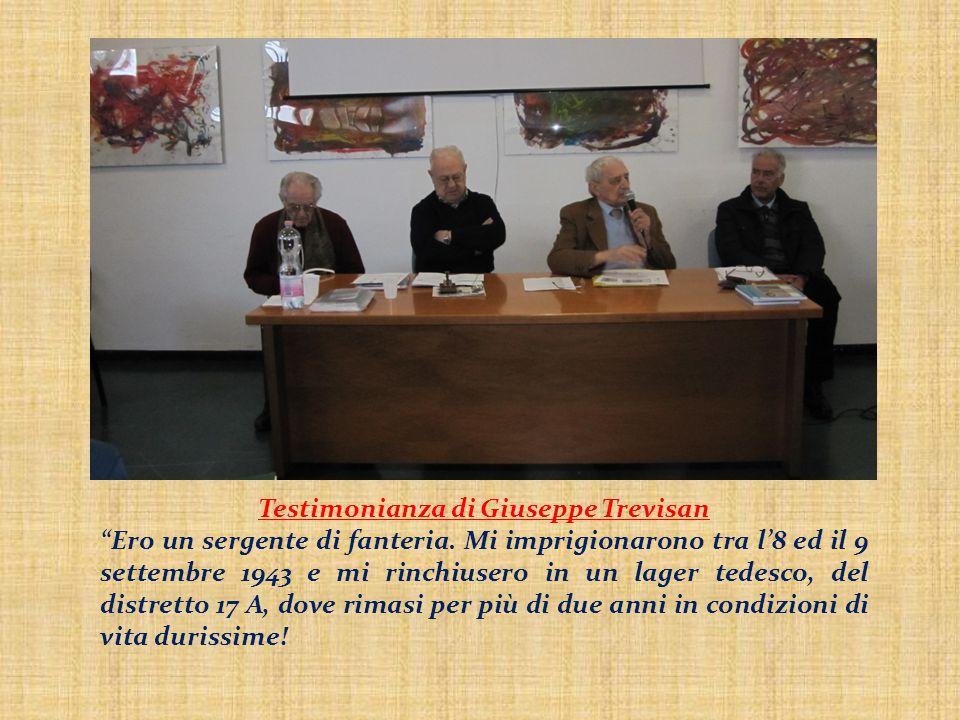 Testimonianza di Giuseppe Trevisan