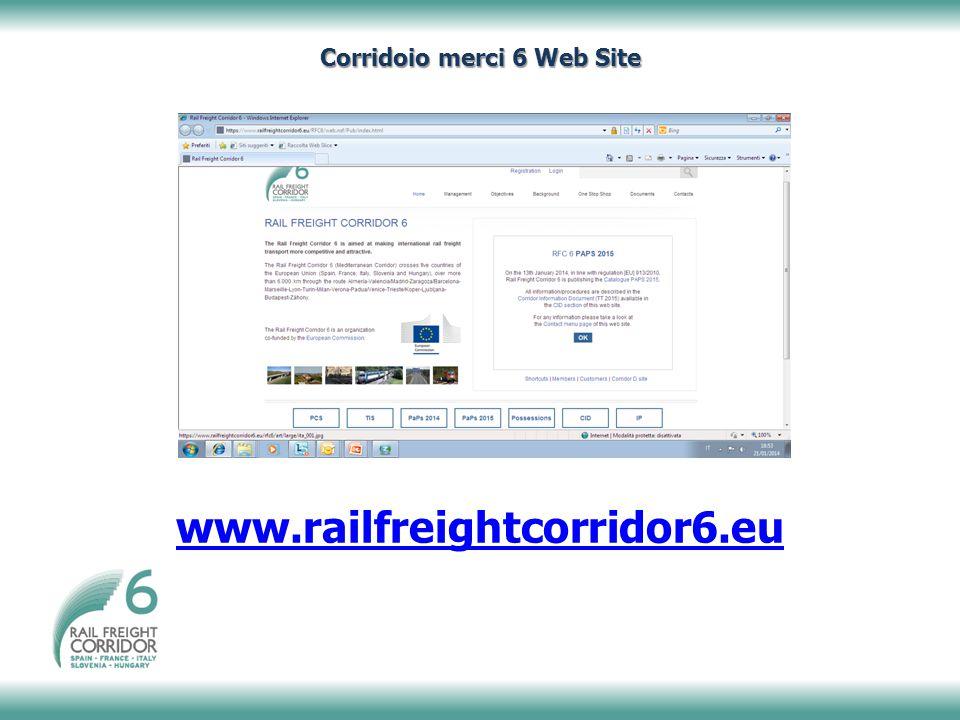Corridoio merci 6 Web Site
