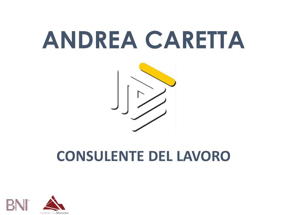 ANDREA CARETTA CONSULENTE DEL LAVORO