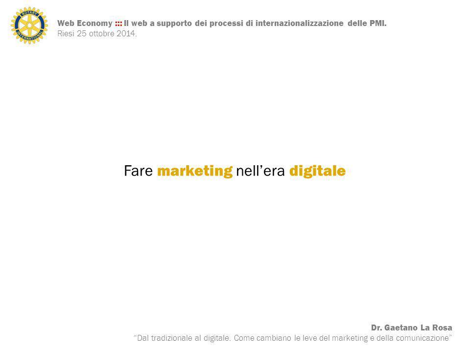 Fare marketing nell'era digitale