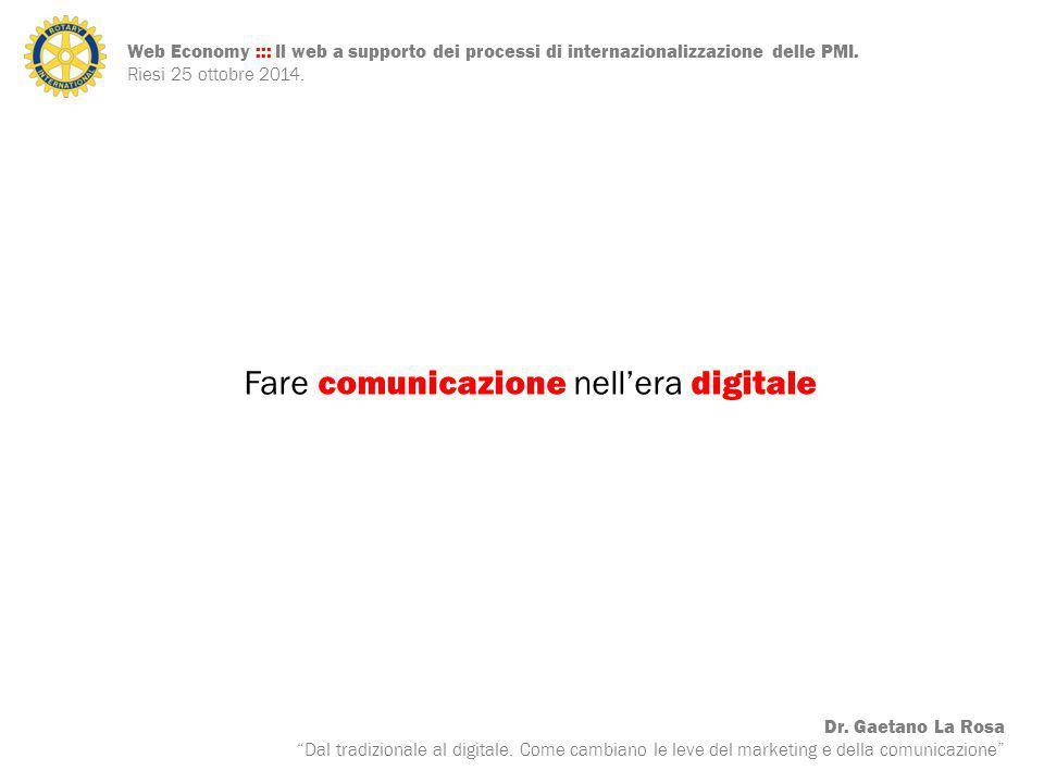 Fare comunicazione nell'era digitale