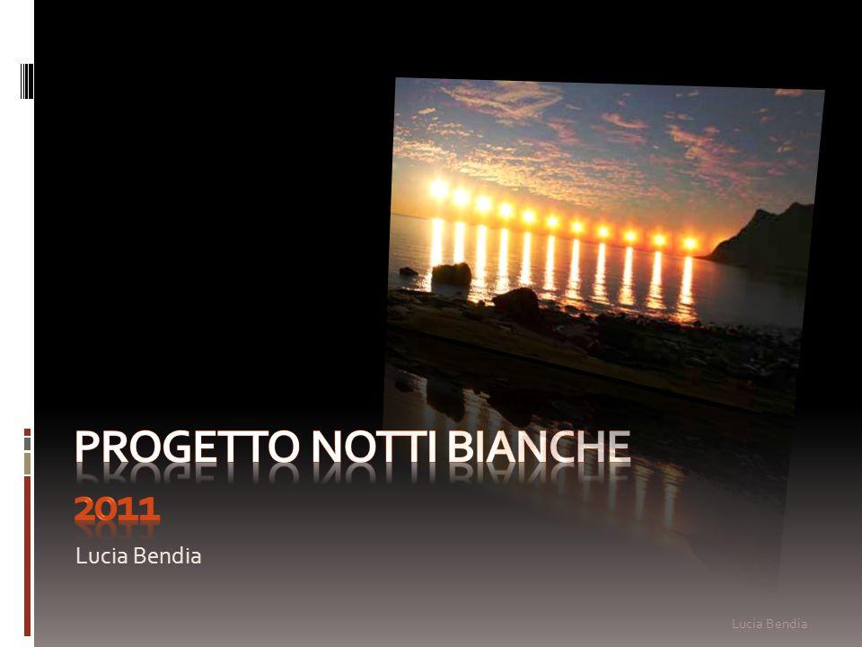 Progetto notti bianche 2011