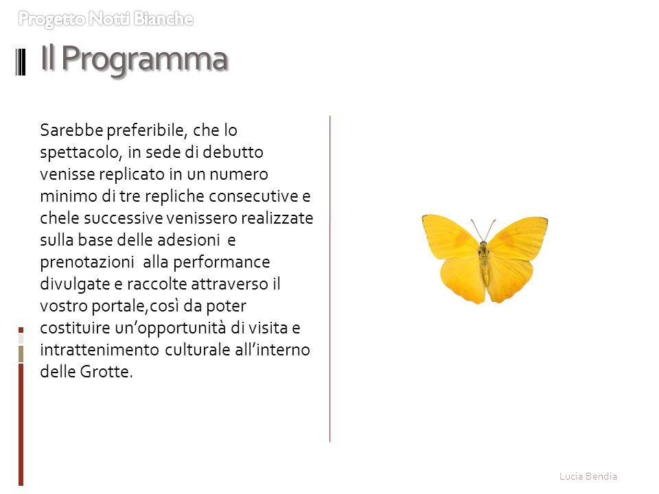 Il Programma Progetto Notti Bianche