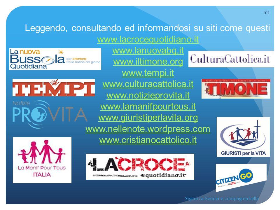Leggendo, consultando ed informandosi su siti come questi www