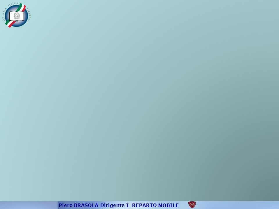 Piero BRASOLA Dirigente I REPARTO MOBILE