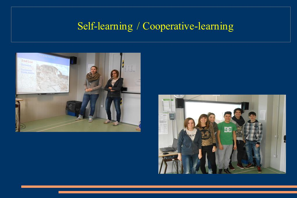 Self-learning / Cooperative-learning