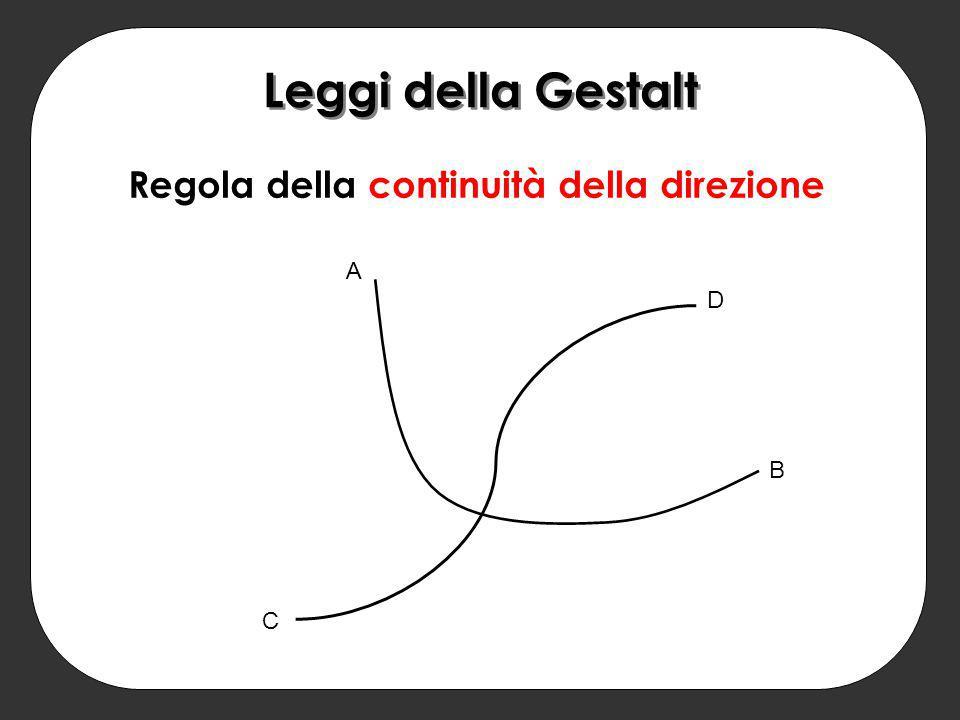 Regola della continuità della direzione