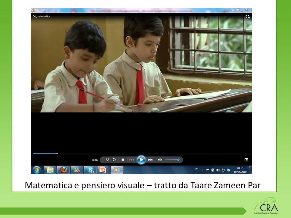 Matematica e pensiero visuale – tratto da Taare Zameen Par