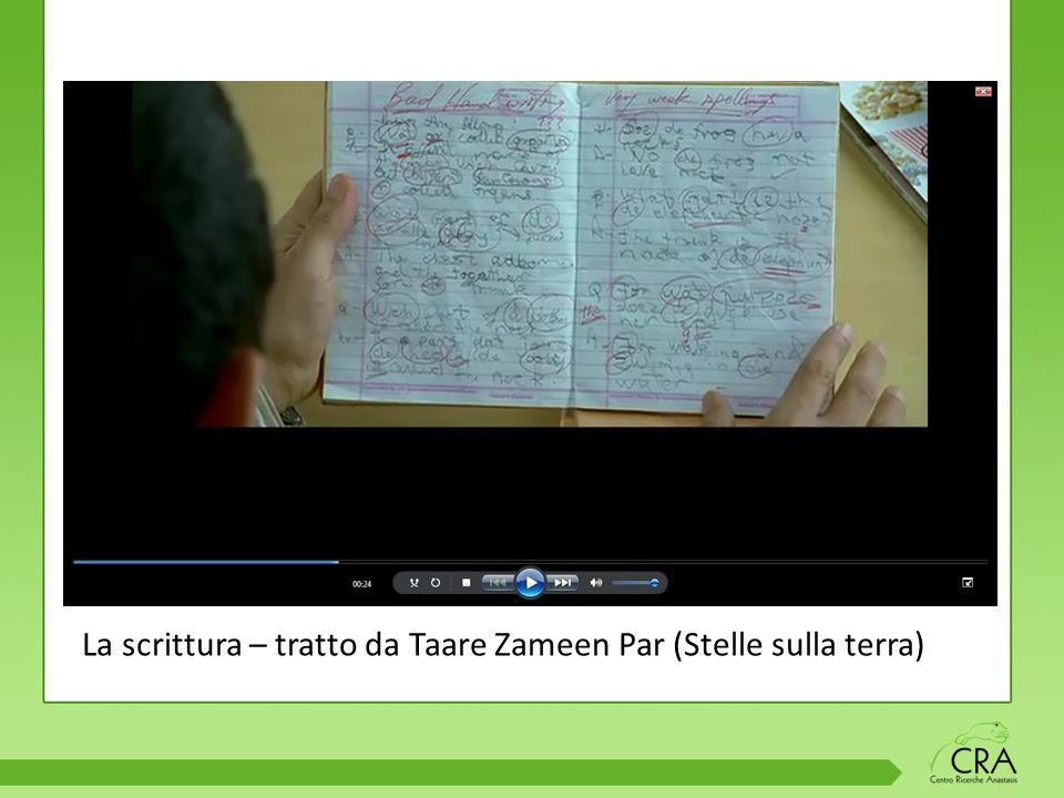 La scrittura – tratto da Taare Zameen Par (Stelle sulla terra)