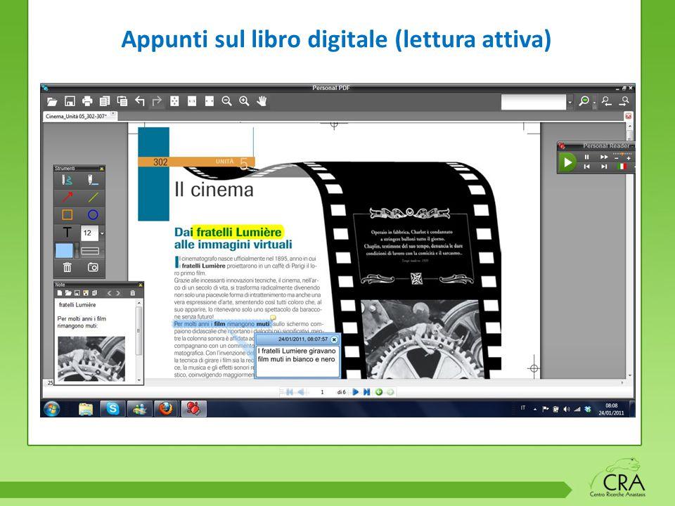 Appunti sul libro digitale (lettura attiva)