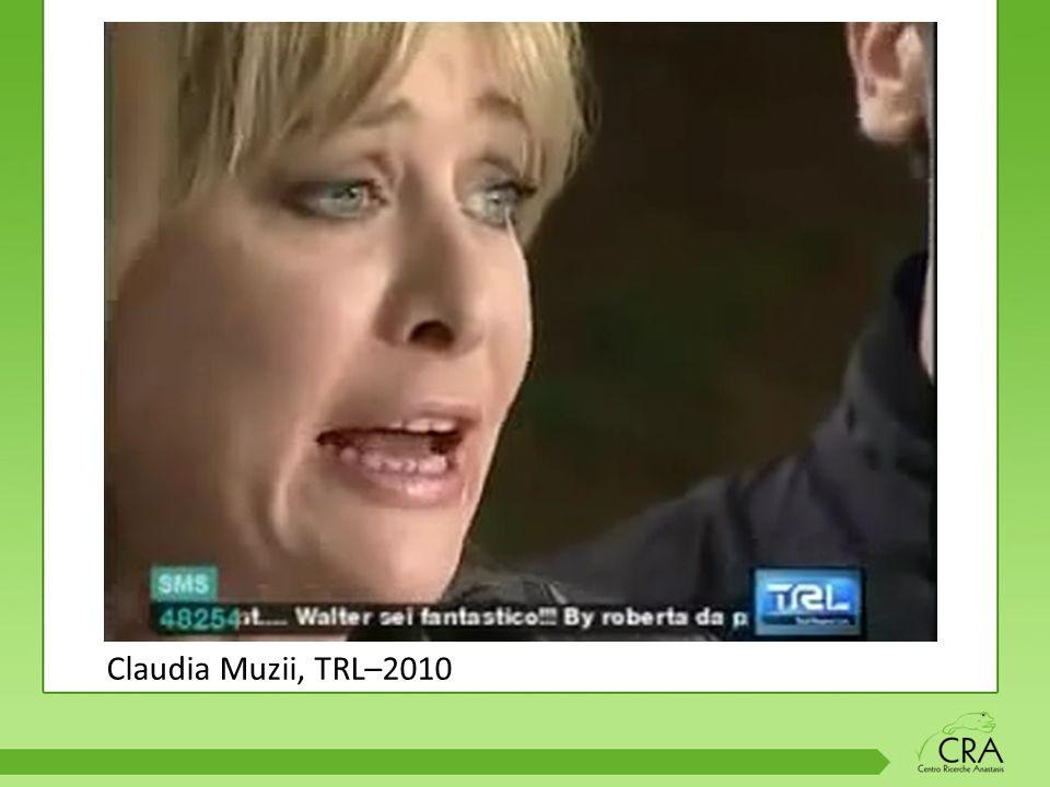 Claudia Muzii, TRL–2010