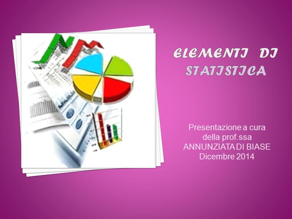 Elementi di Statistica