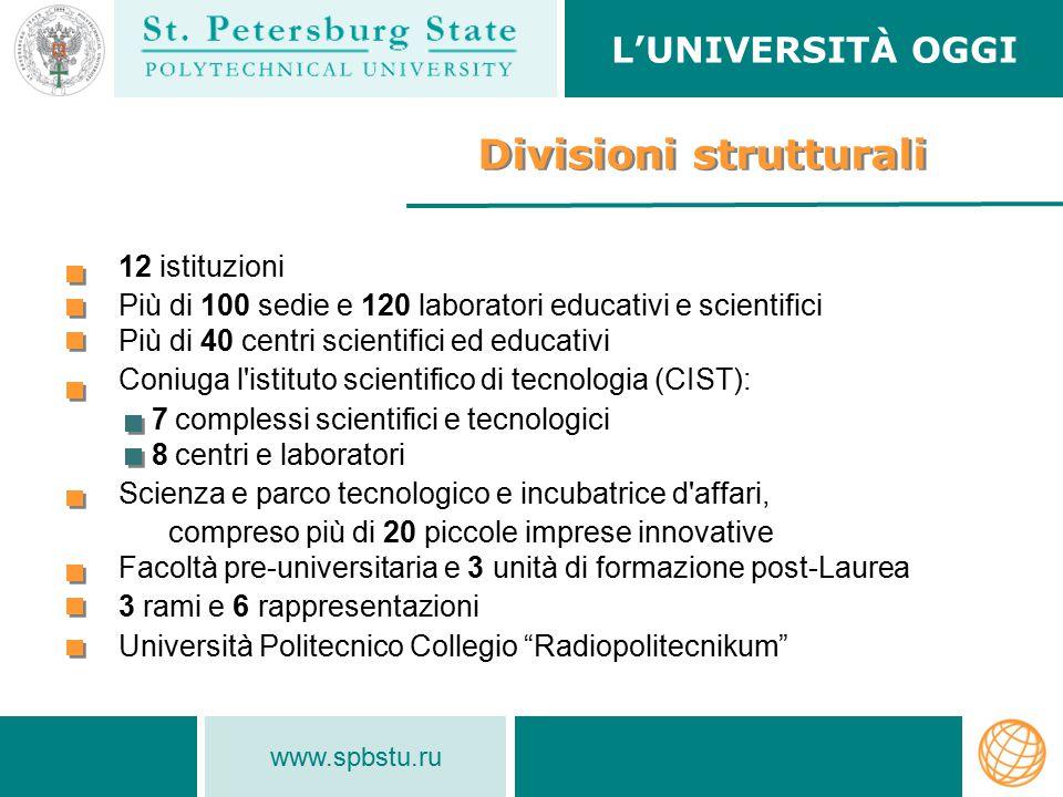 Divisioni strutturali