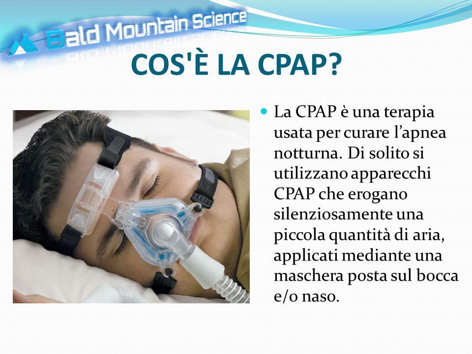 COS È LA CPAP