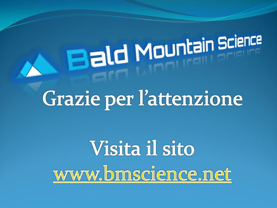 Grazie per l'attenzione Visita il sito www.bmscience.net