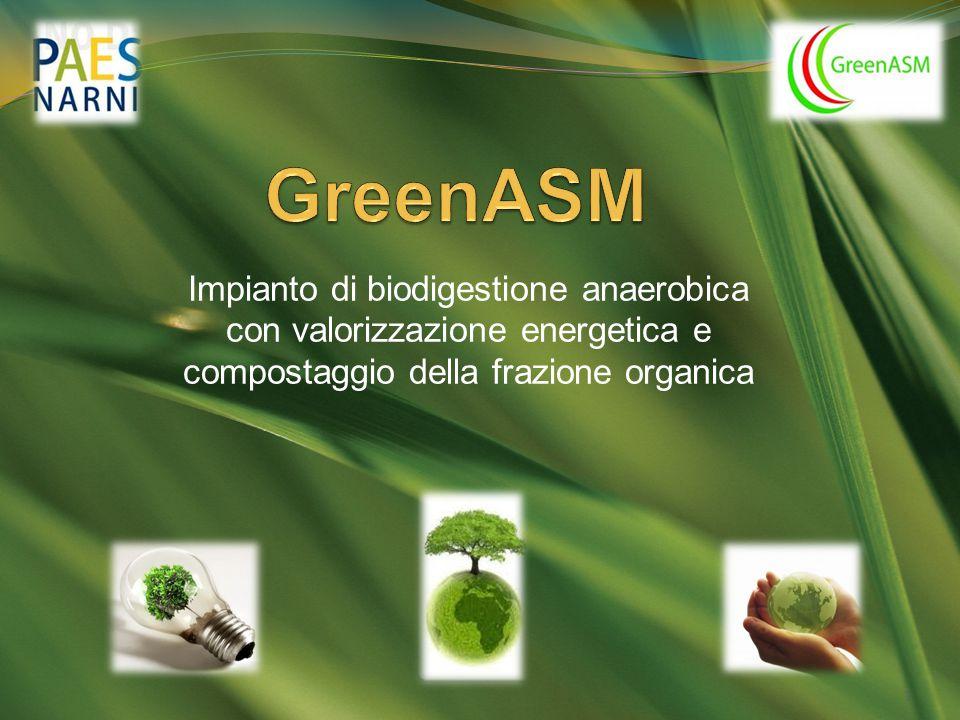 GreenASM Impianto di biodigestione anaerobica