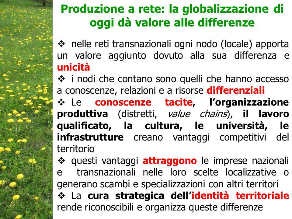 Produzione a rete: la globalizzazione di oggi dà valore alle differenze