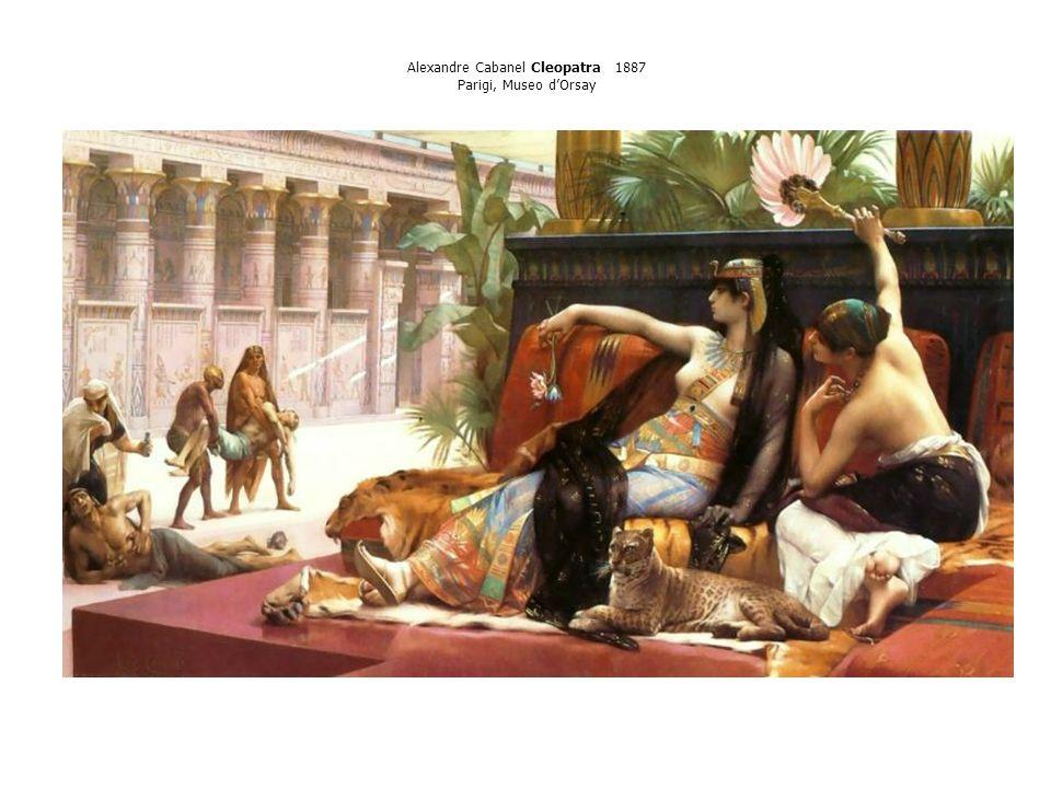Alexandre Cabanel Cleopatra 1887 Parigi, Museo d'Orsay