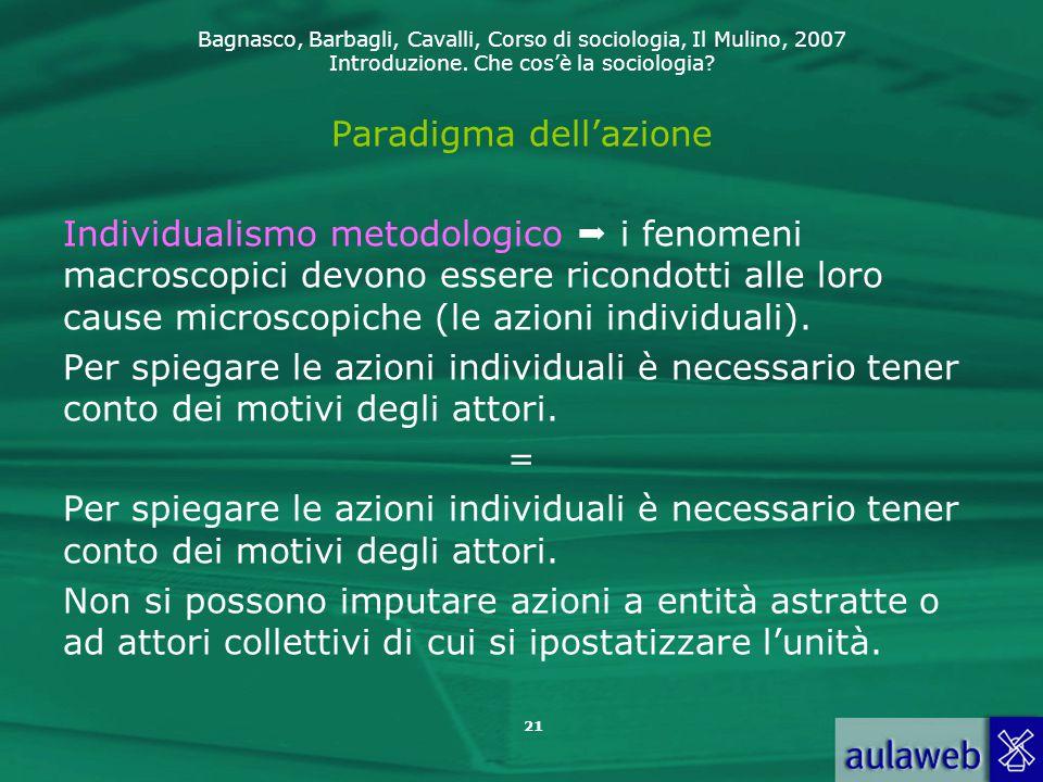 Paradigma dell'azione