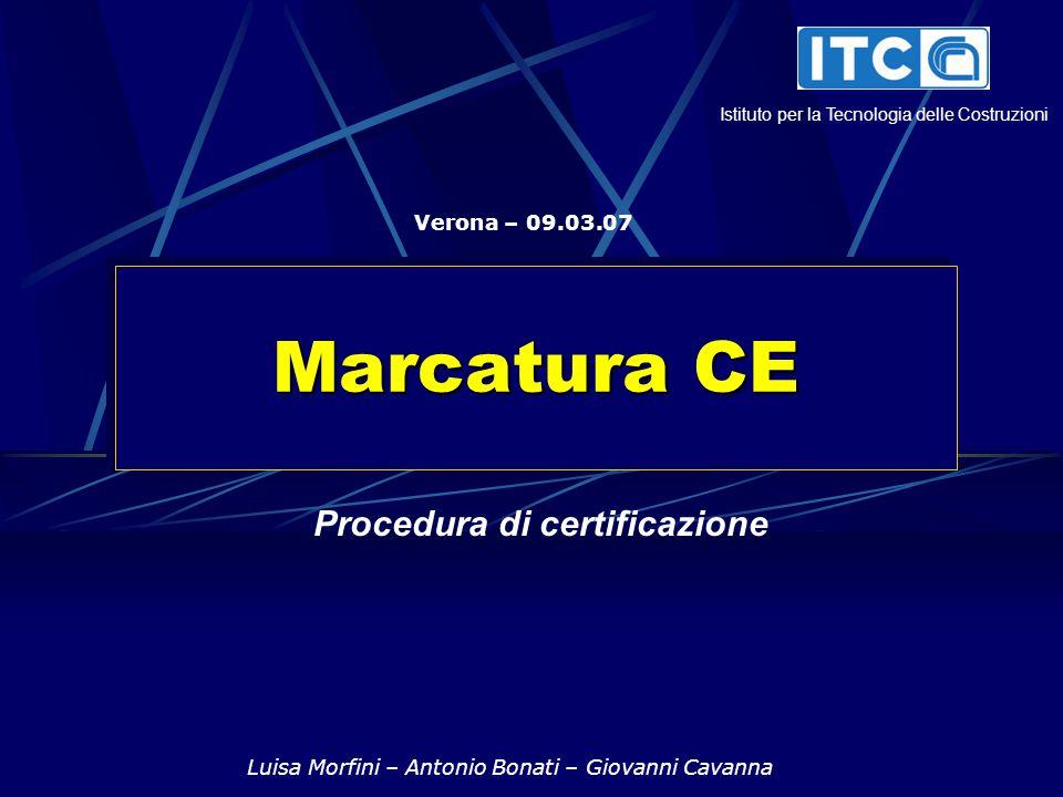 Procedura di certificazione