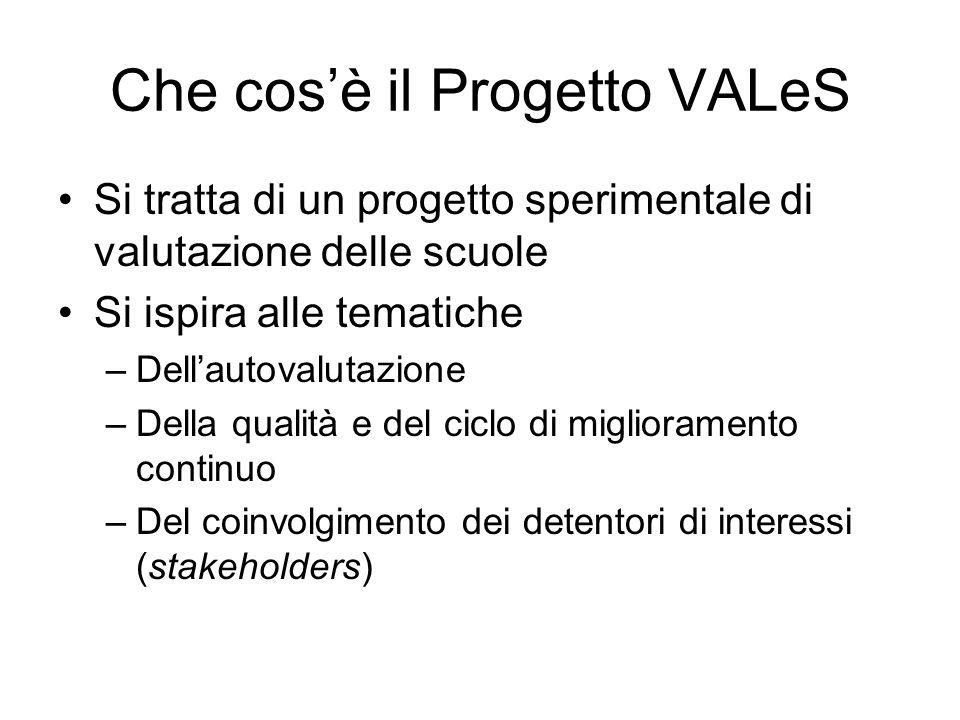 Che cos'è il Progetto VALeS