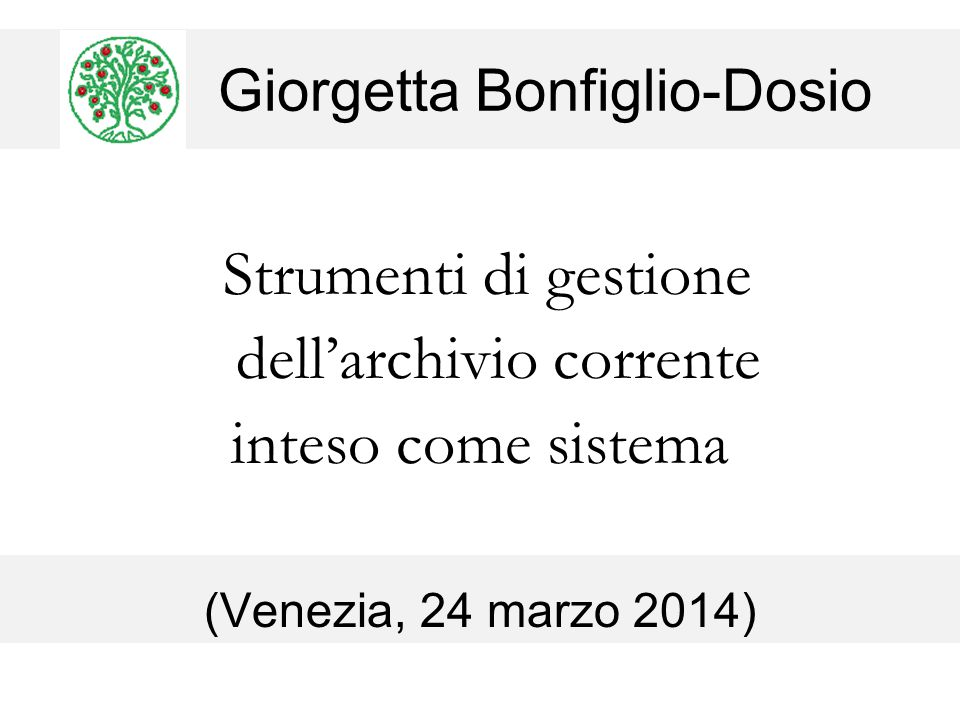 Giorgetta Bonfiglio-Dosio