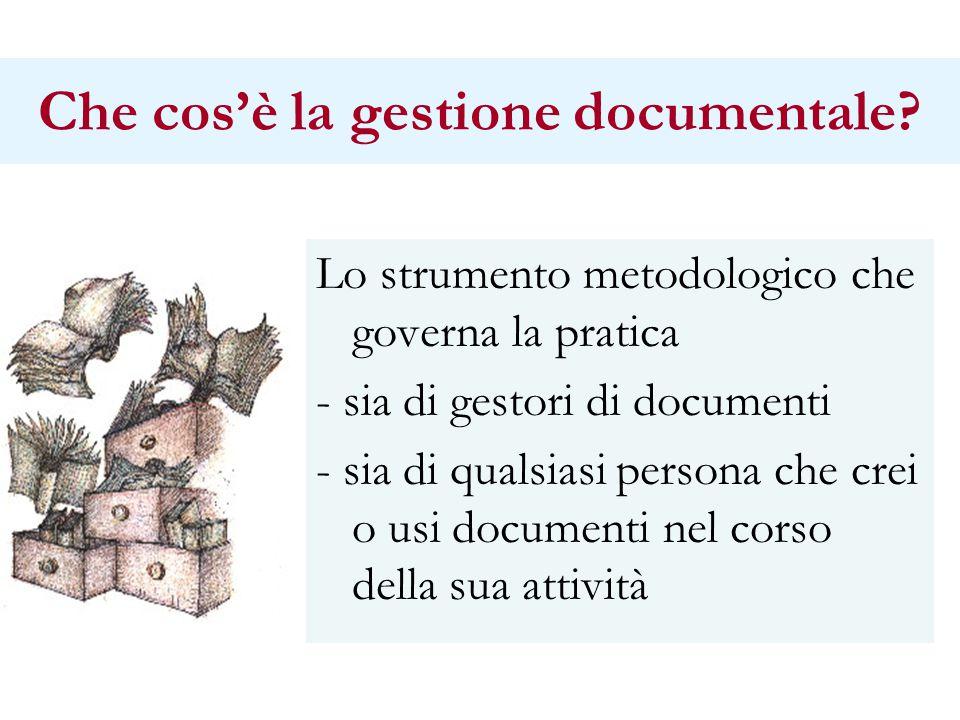 Che cos'è la gestione documentale