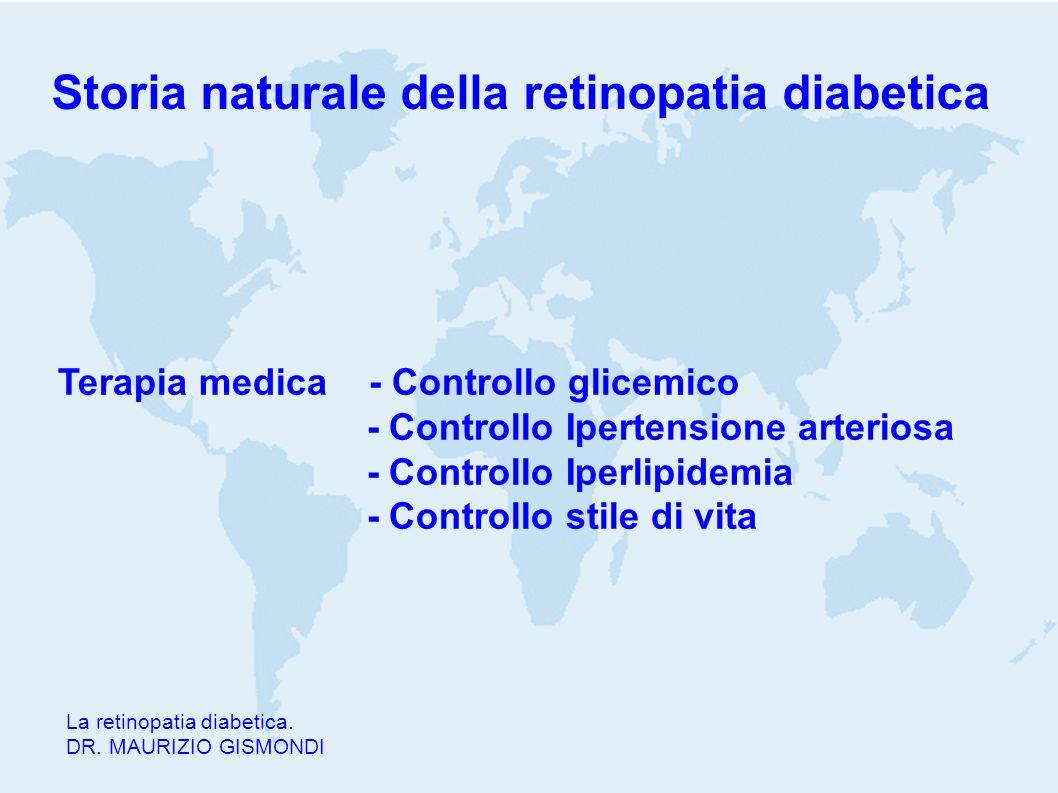 Storia naturale della retinopatia diabetica