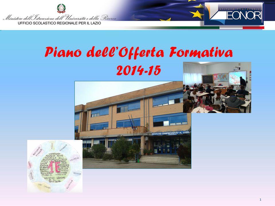 Piano dell'Offerta Formativa 2014-15
