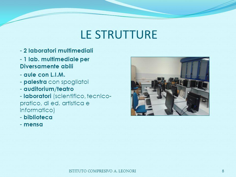 LE STRUTTURE - 2 laboratori multimediali