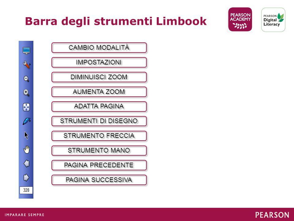 Barra degli strumenti Limbook