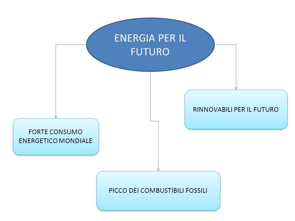 ENERGIA PER IL FUTURO RINNOVABILI PER IL FUTURO