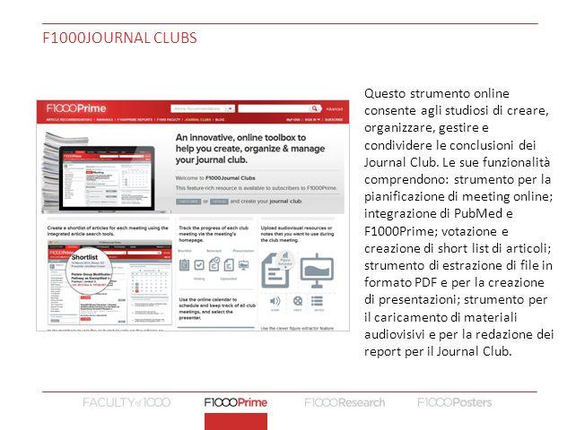 F1000Journal CLUBS
