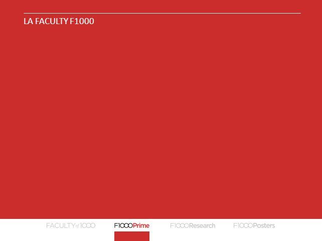 La Faculty F1000