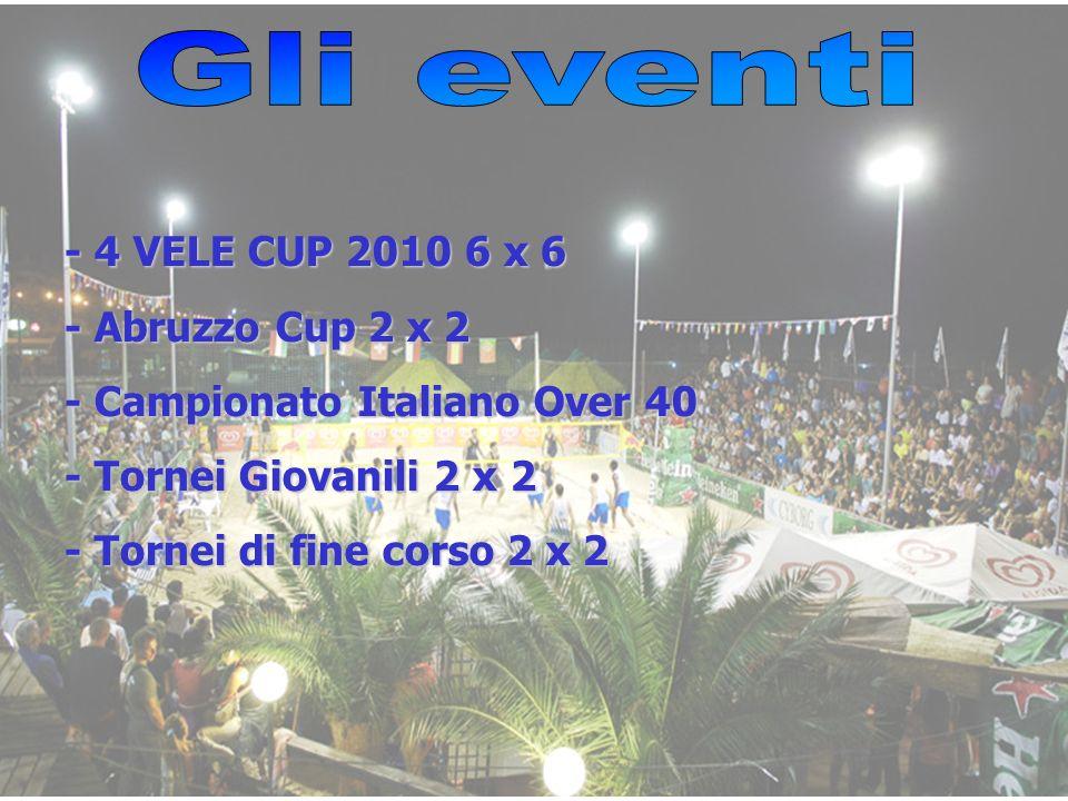 Gli eventi - 4 VELE CUP 2010 6 x 6 - Abruzzo Cup 2 x 2