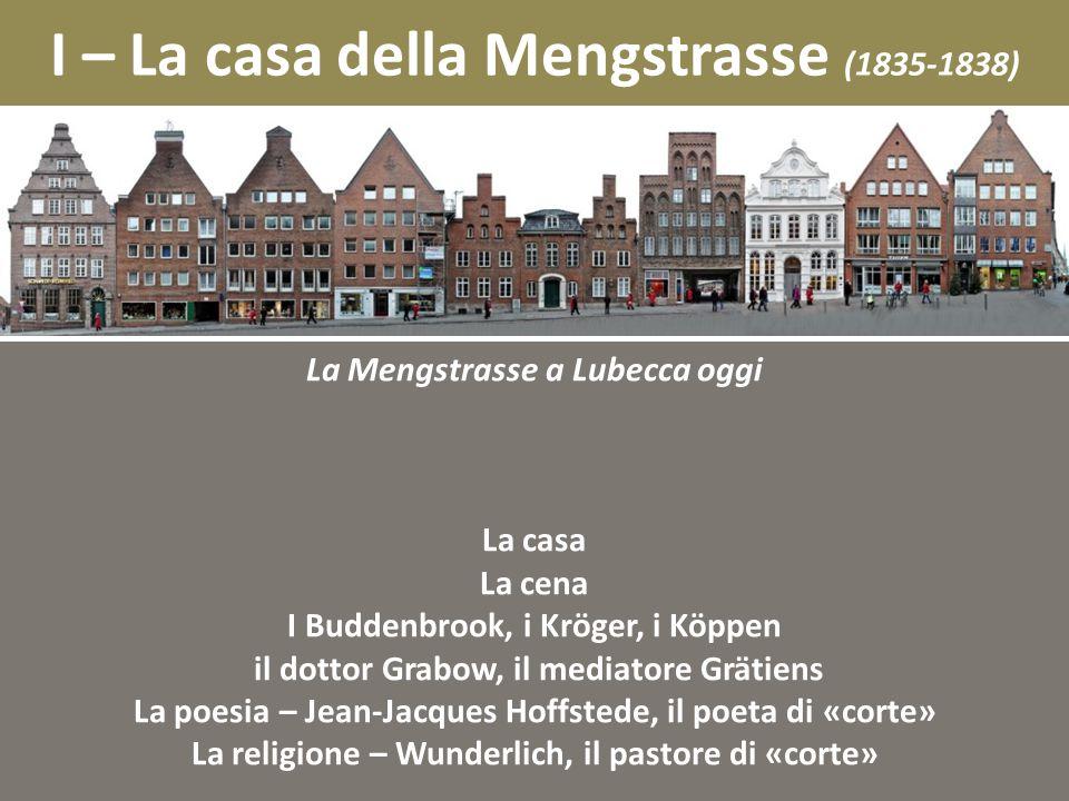 I – La casa della Mengstrasse (1835-1838)