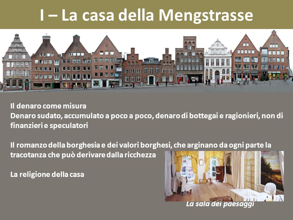 I – La casa della Mengstrasse