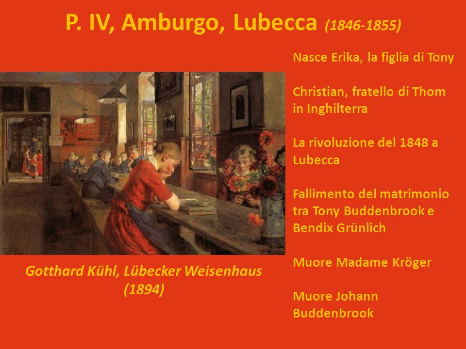 P. IV, Amburgo, Lubecca (1846-1855)