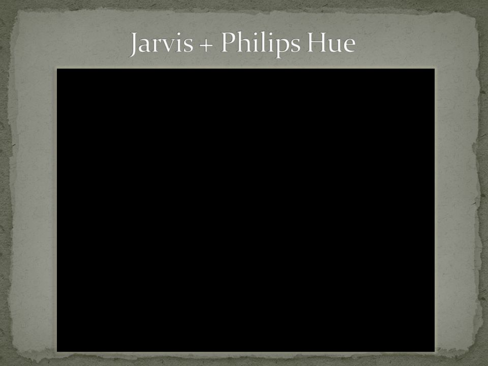 Jarvis + Philips Hue