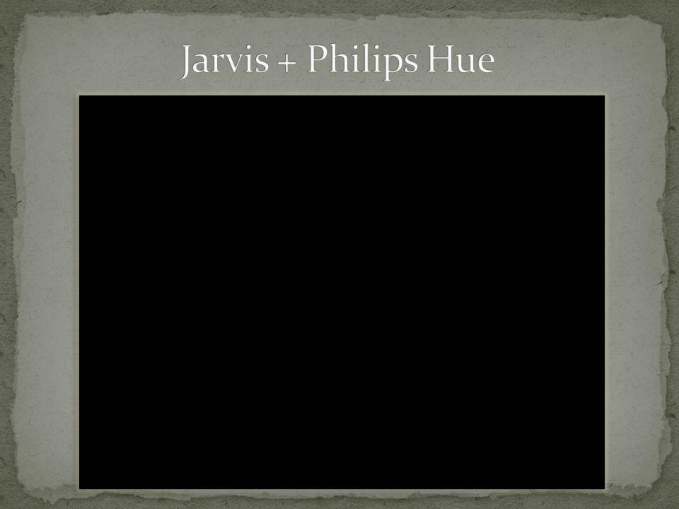Jarvis + Philips Hue