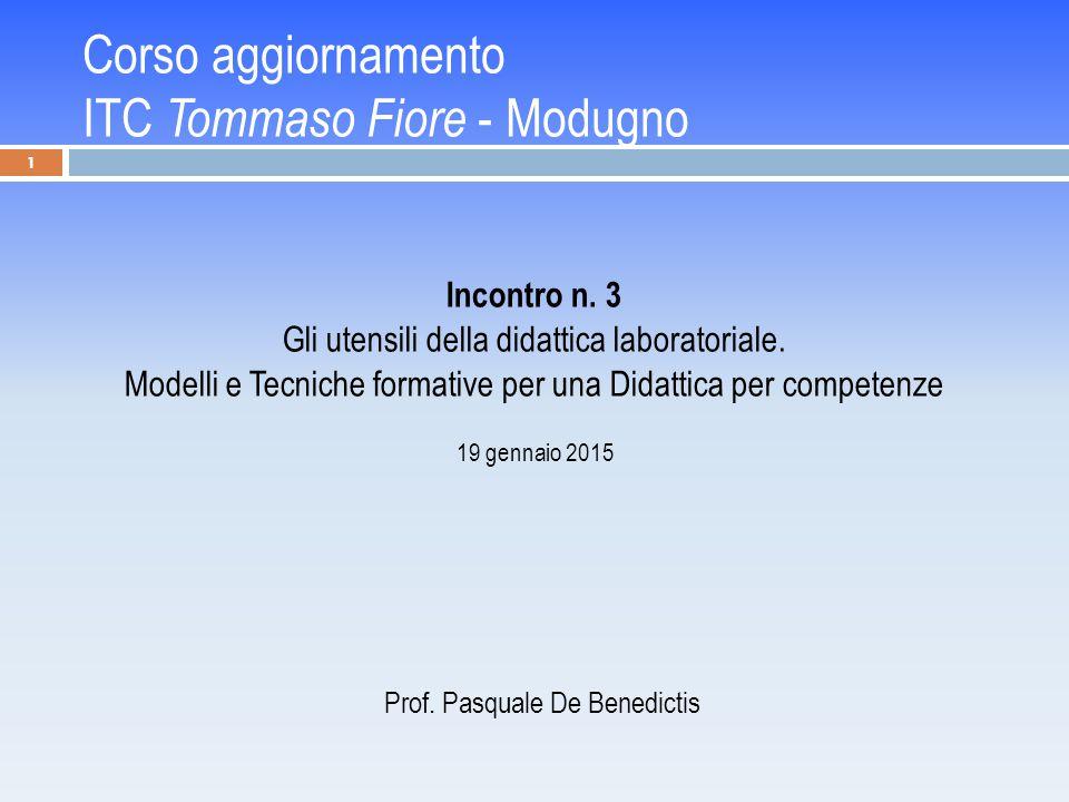 Corso aggiornamento ITC Tommaso Fiore - Modugno